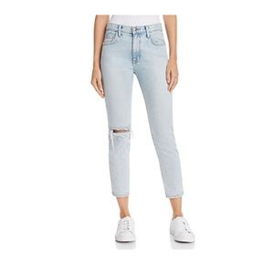 Current/Elliot Vintage Cropped Slim Leg Jeans NWT